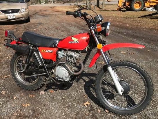 1978 Honda XL 100