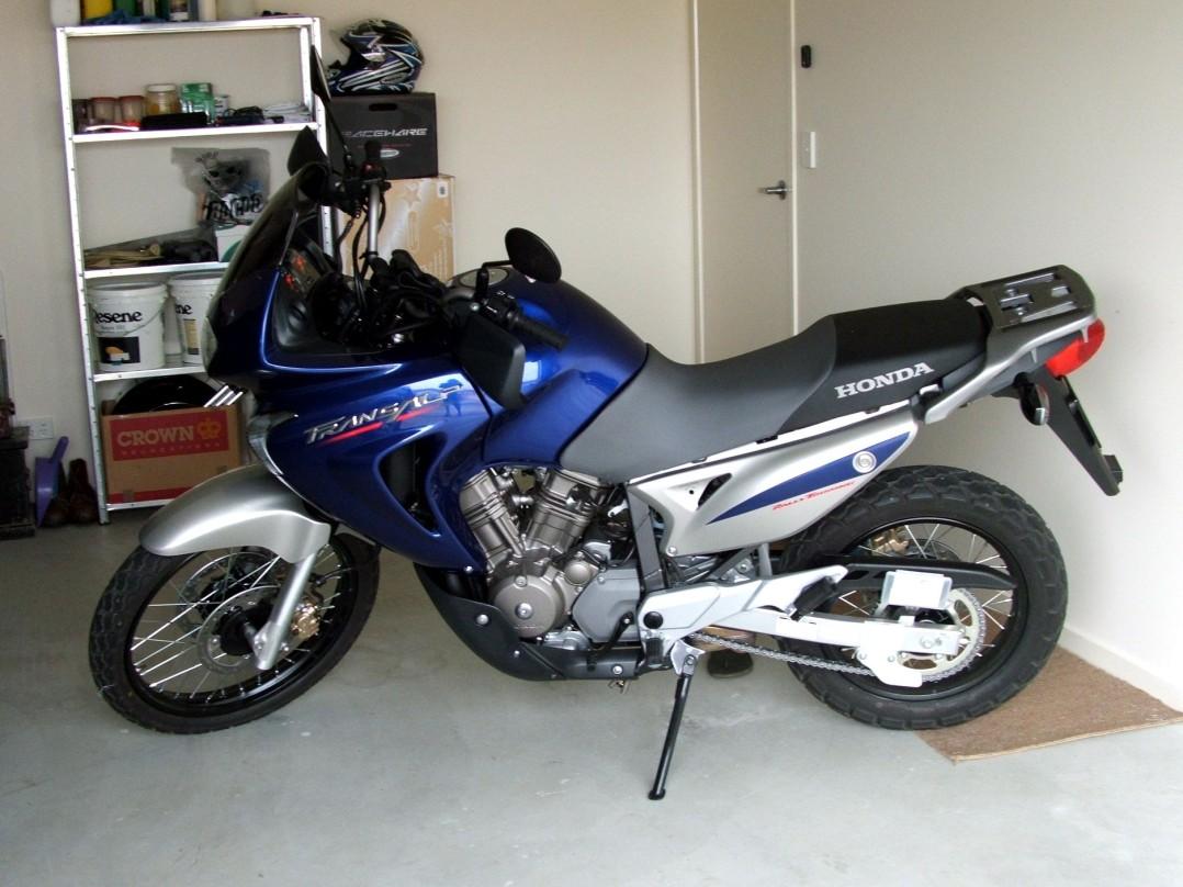 2005 Honda 650 Transalp