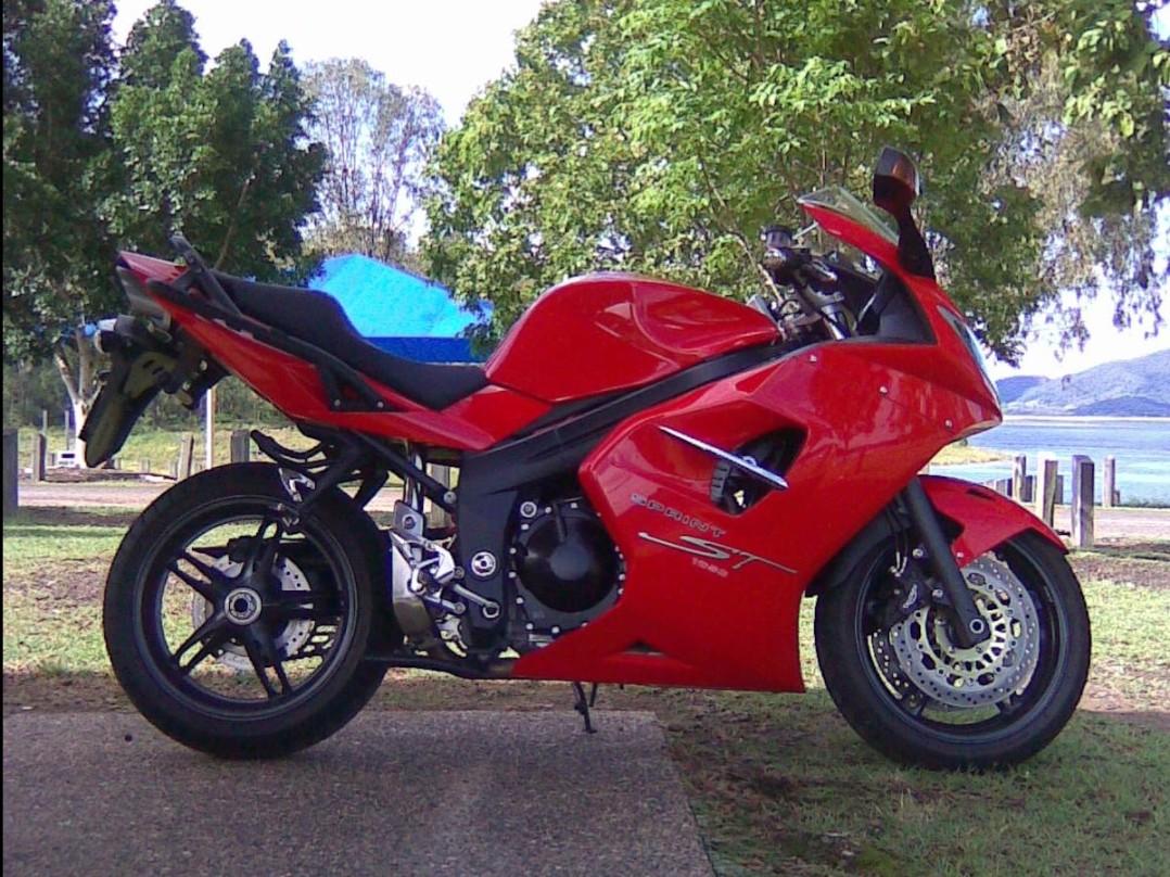 2007 Triumph 1050cc SPRINT ST