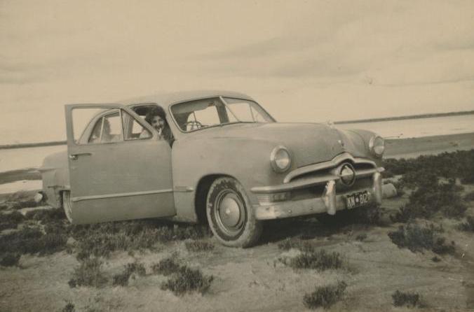 1950 Ford single spinner