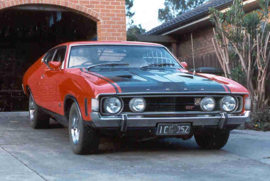 1973 Ford XA GT TUDOR
