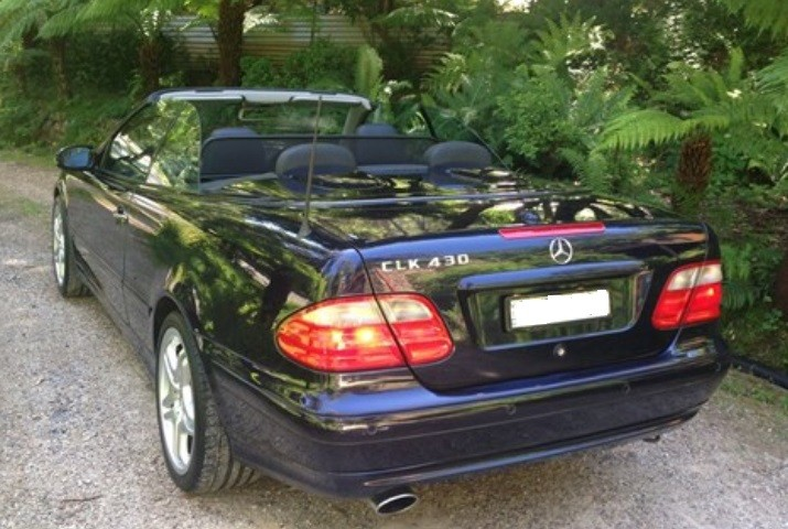 2000 Mercedes-Benz CLK430 ELEGANCE