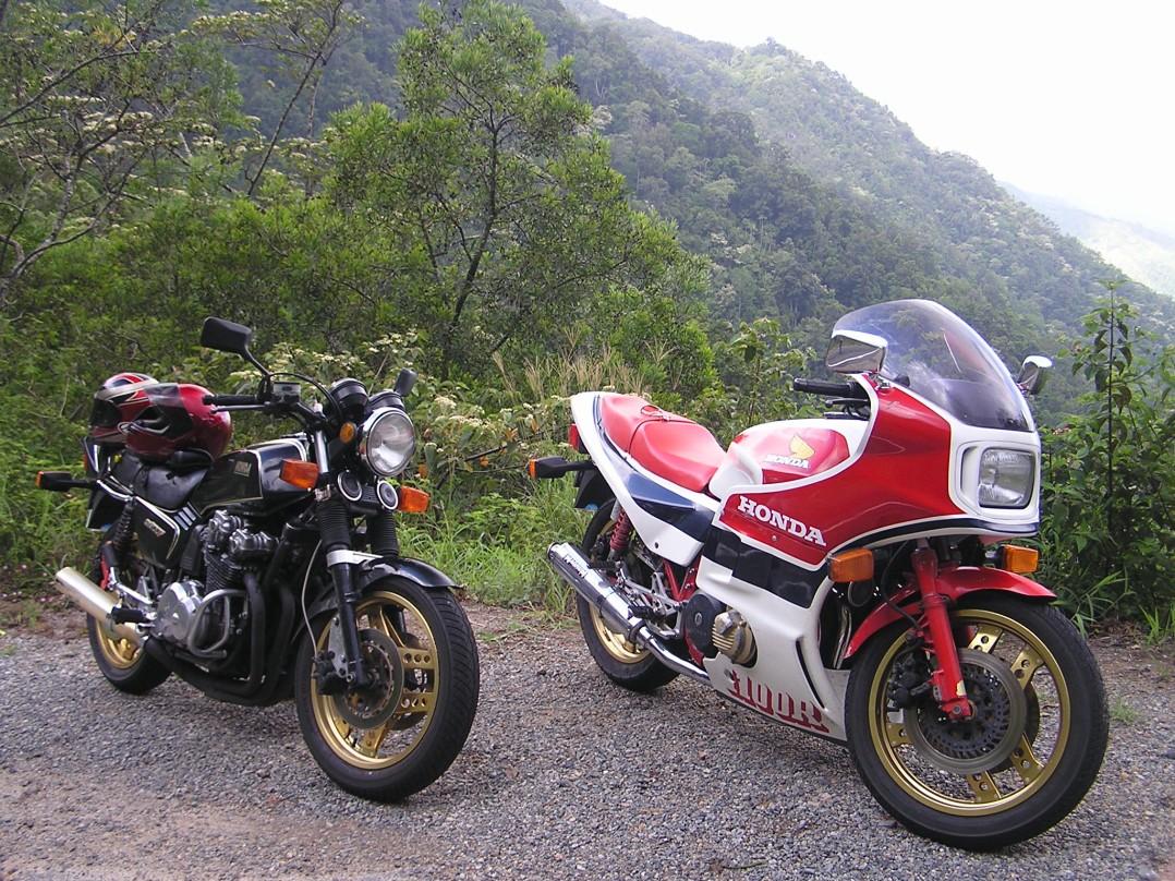 1982 Honda 900FB & CB1100RB