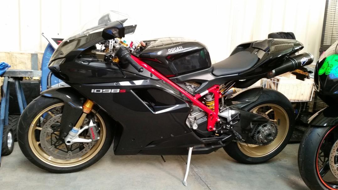 2008 Ducati 1098S