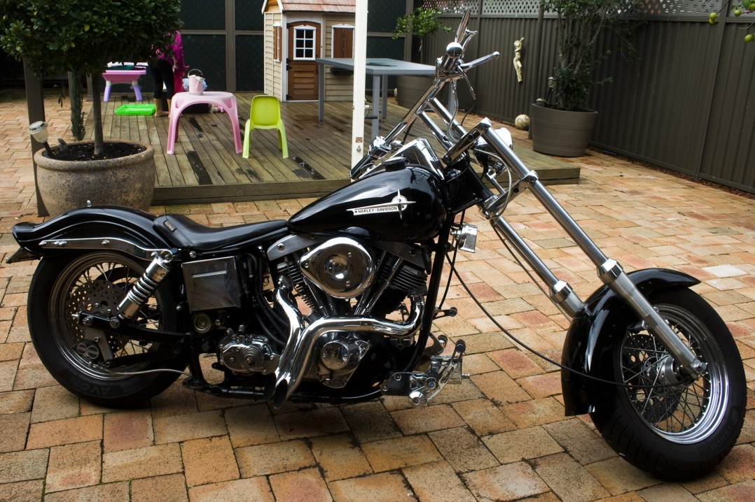 1972 Harley-Davidson shovel head