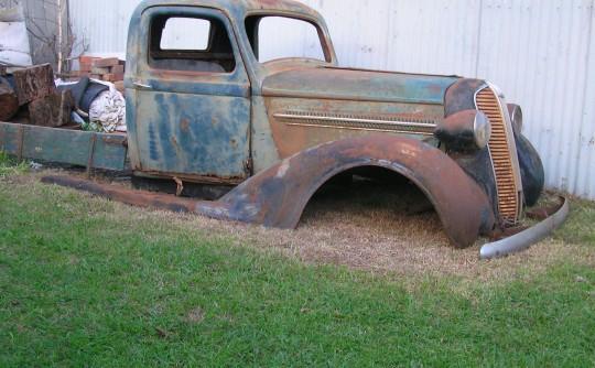 1936 DAF 2 tone truck