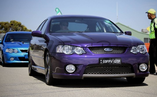 2003 Ford Performance Vehicles BA GT-P