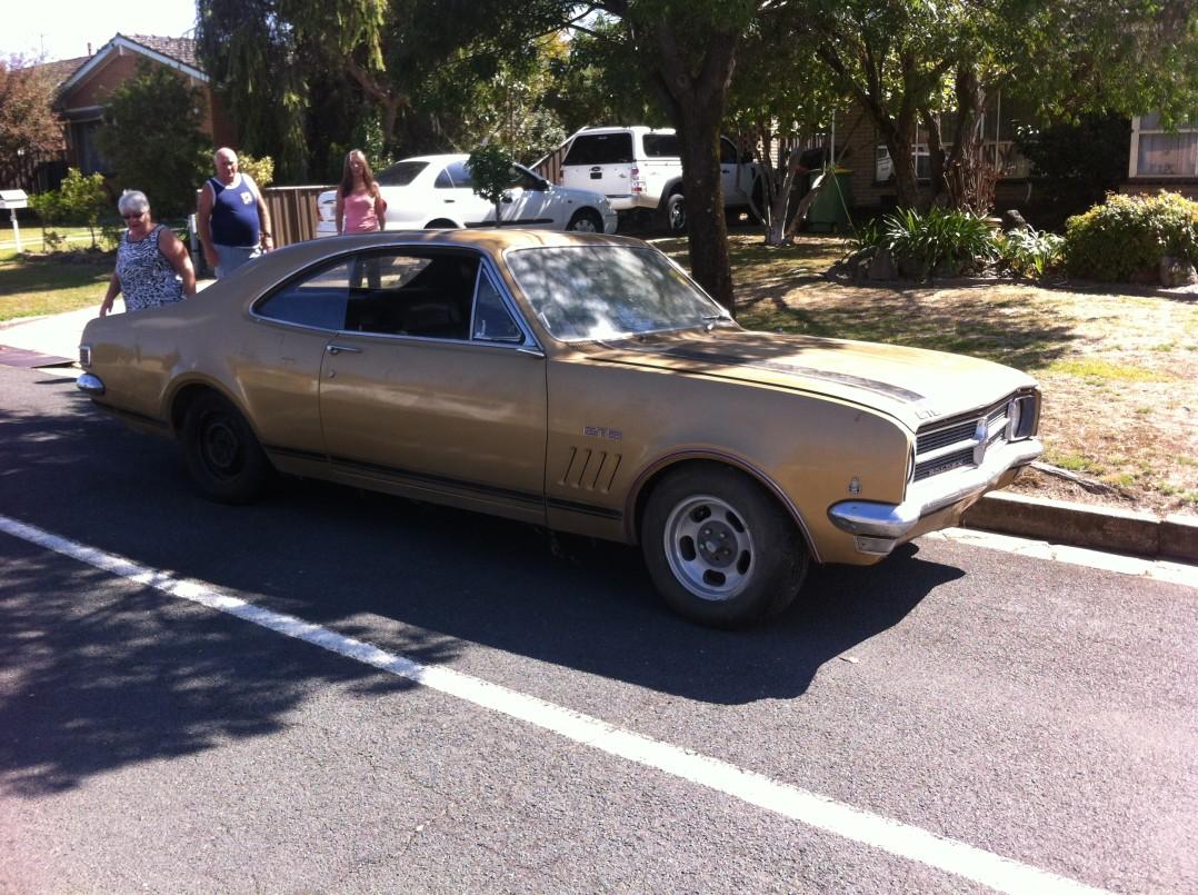 1969 Holden HK Monaro