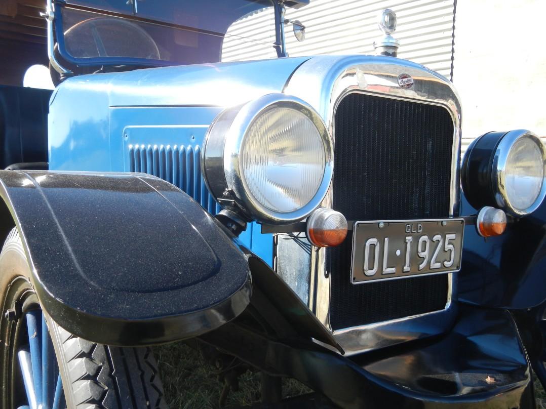 1925 Overland Delivery Van