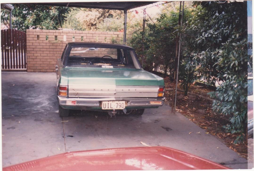 1971 Chrysler Valiant Reagal