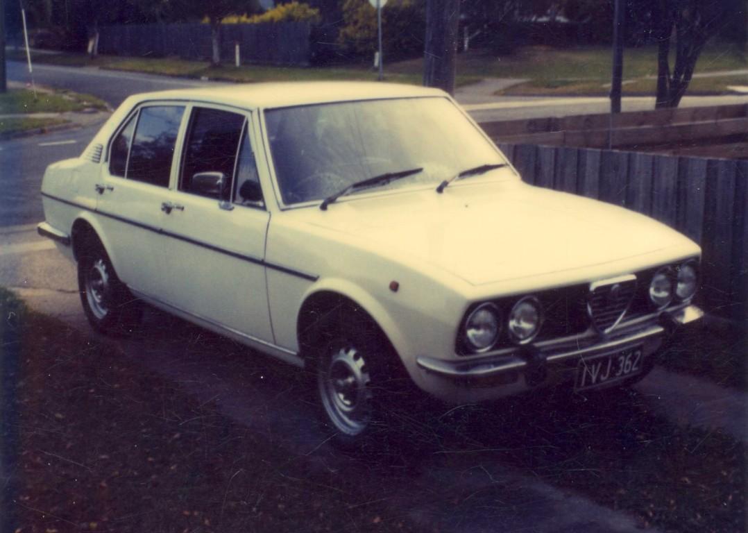 1977 Alfa Romeo ALFETTA 1.8