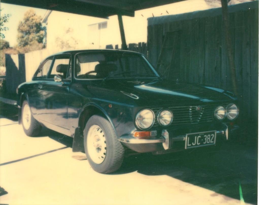 1972 Alfa Romeo 105 GTV 2000