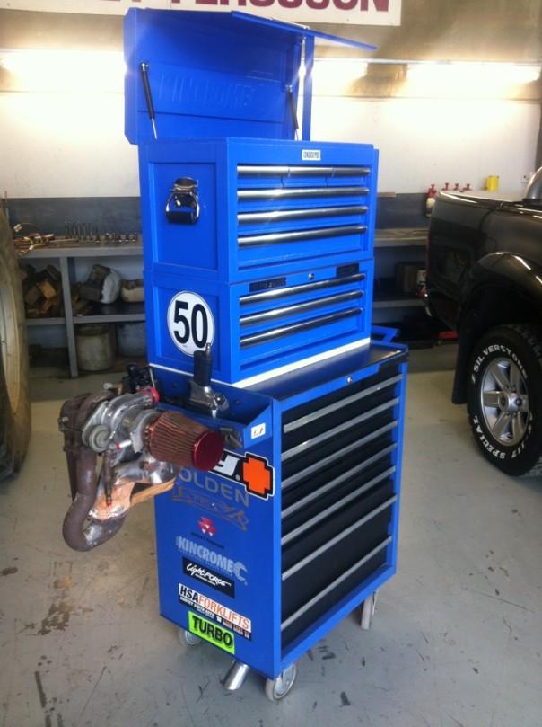 1998 kinchrome tool box