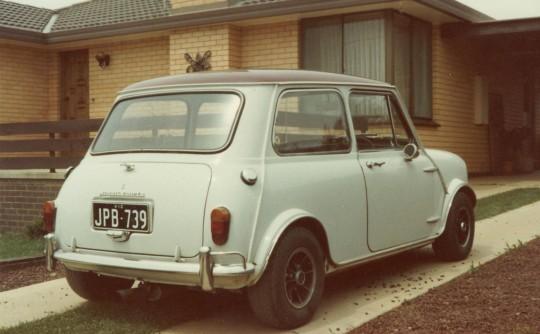 1968 Morris Cooper Morris Cooper S