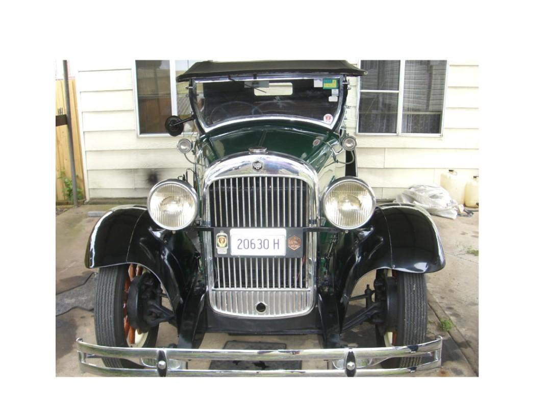 1929 Essex Challenger Tourer