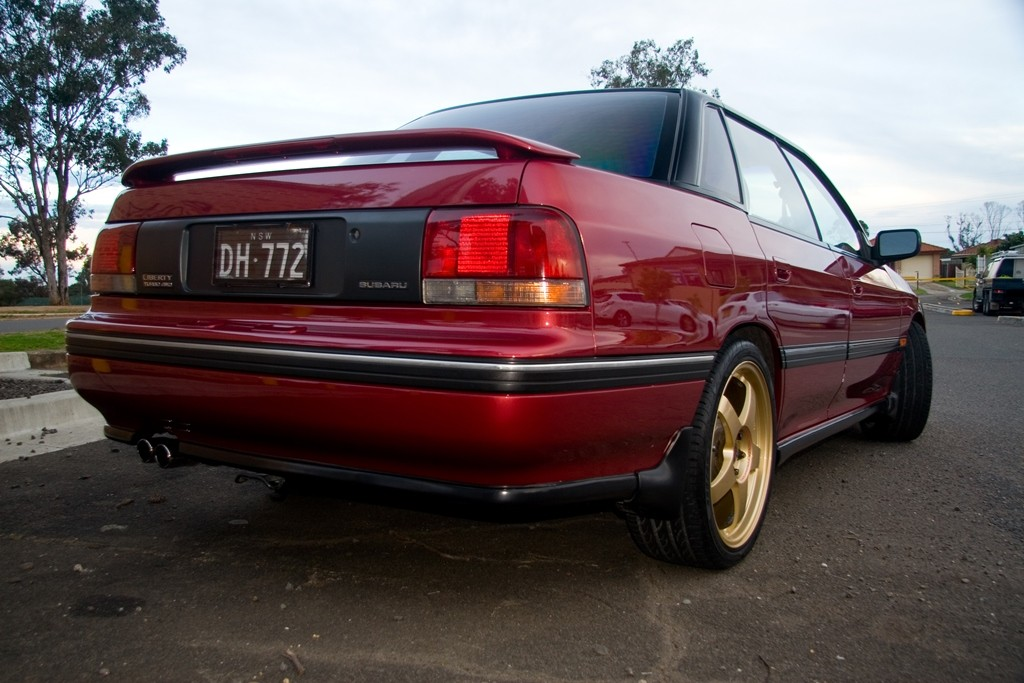 1993 Subaru Liberty RS Turbo