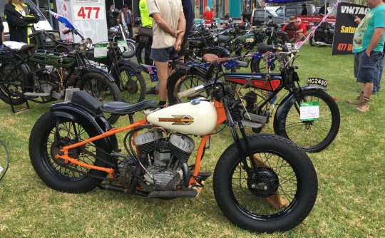 1939 Harley-Davidson WLDD
