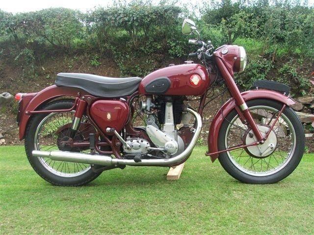 1955 BSA B31