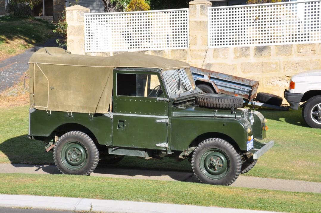 "1955 Land Rover Series 1 86"" SWB"