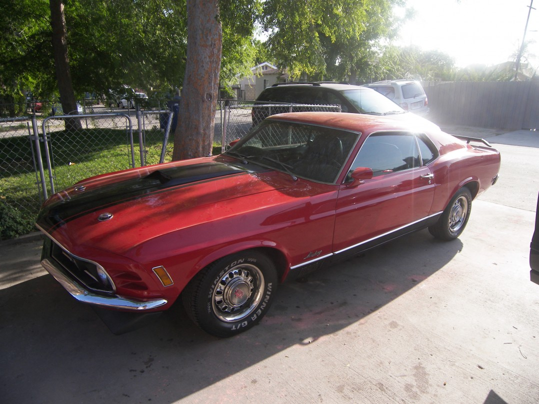 1970 Ford MUSTANG Mach 1 M Code