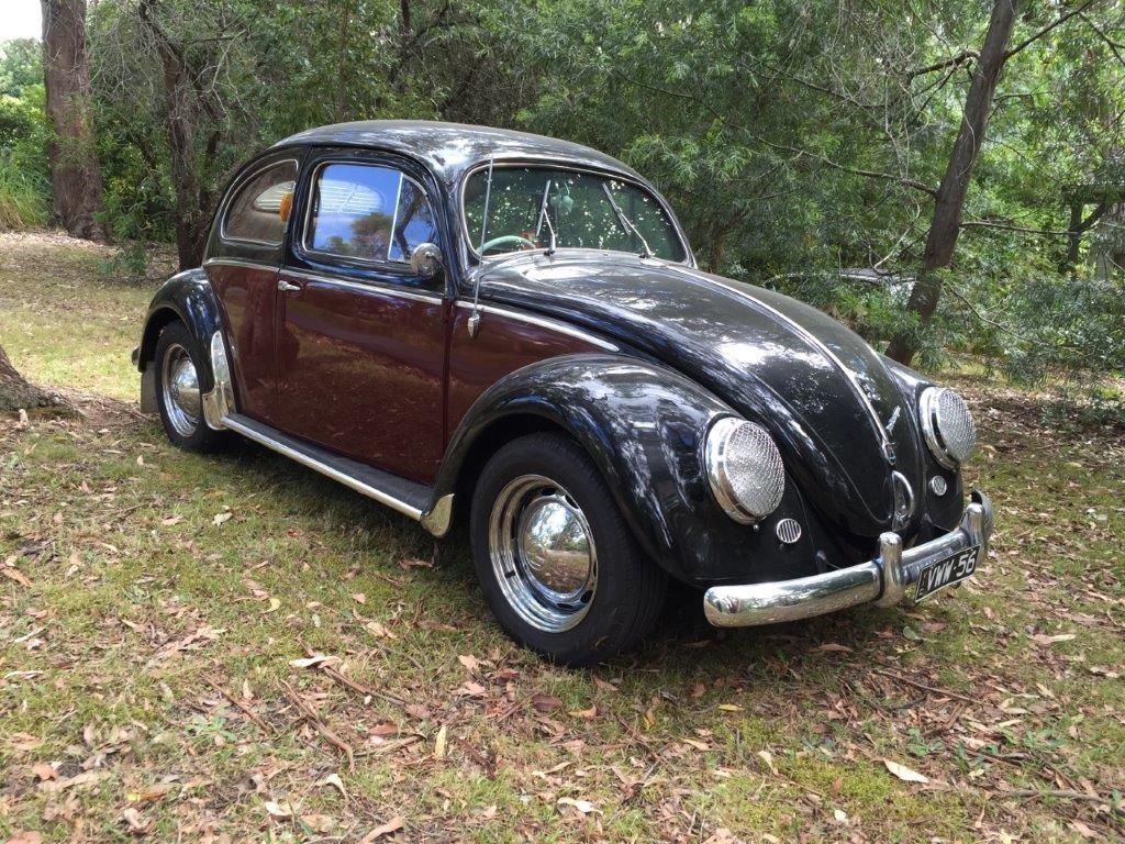 1956 Volkswagen Oval window beetle