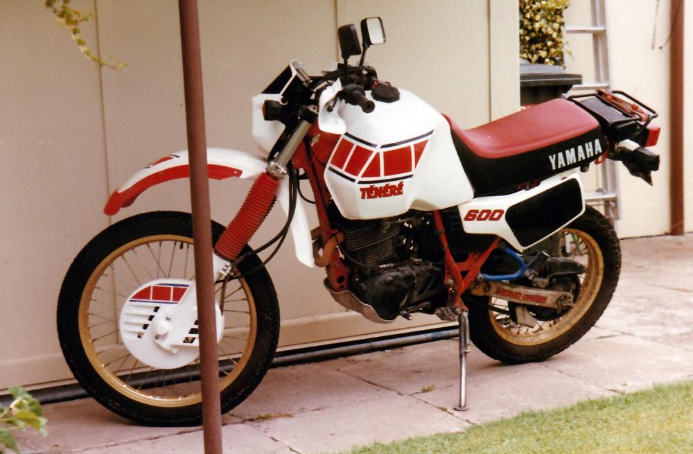 1987 Yamaha 595cc XT600Z (TENERE)