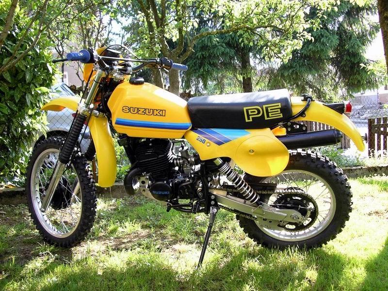 1980 Suzuki PE250