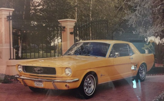1966 Ford Coupe
