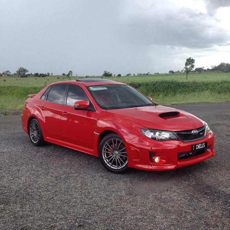 2011 Subaru IMPREZA WRX (AWD)