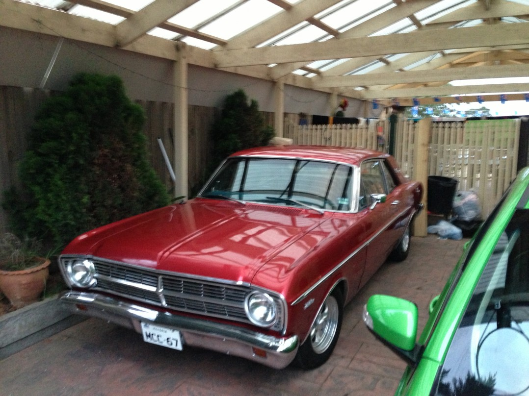 1967 Ford sports coupe