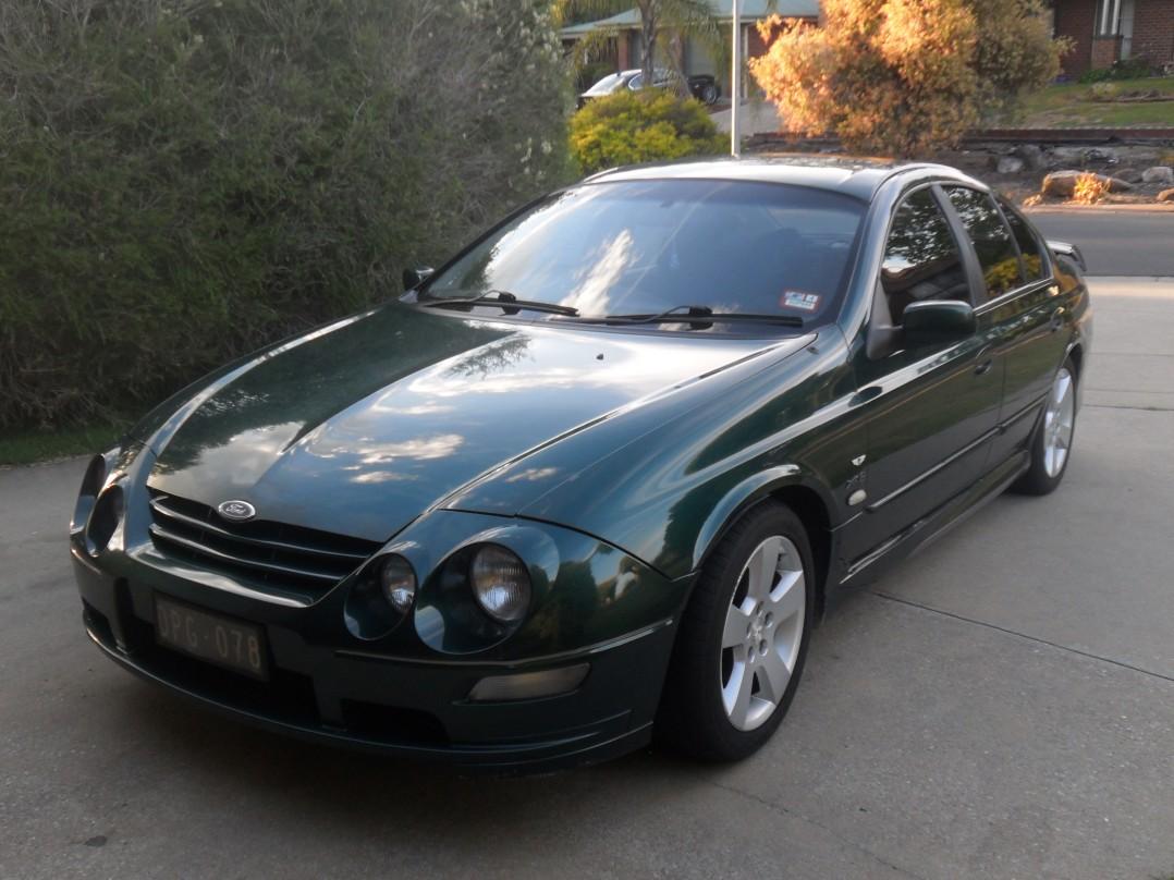 2002 Ford Falcon AU series 3 XR8