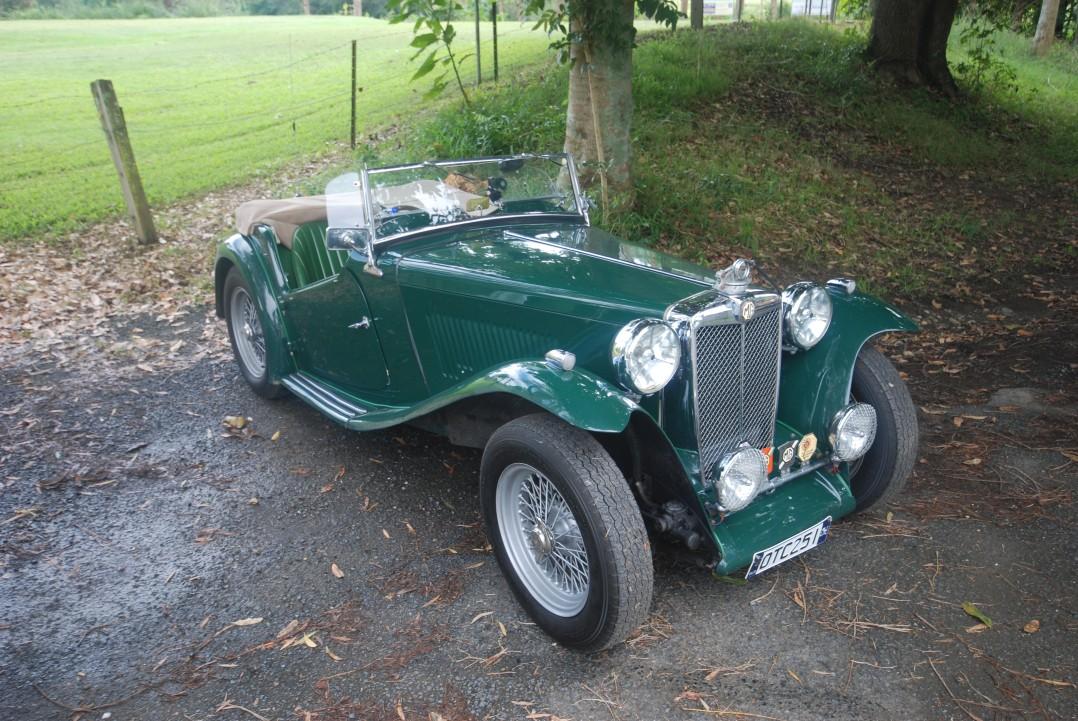 1949 MG MG-TC