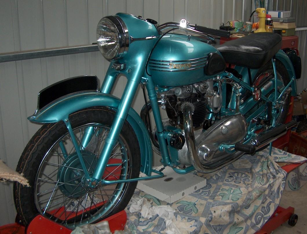 1953 Triumph 6T Thunderbird