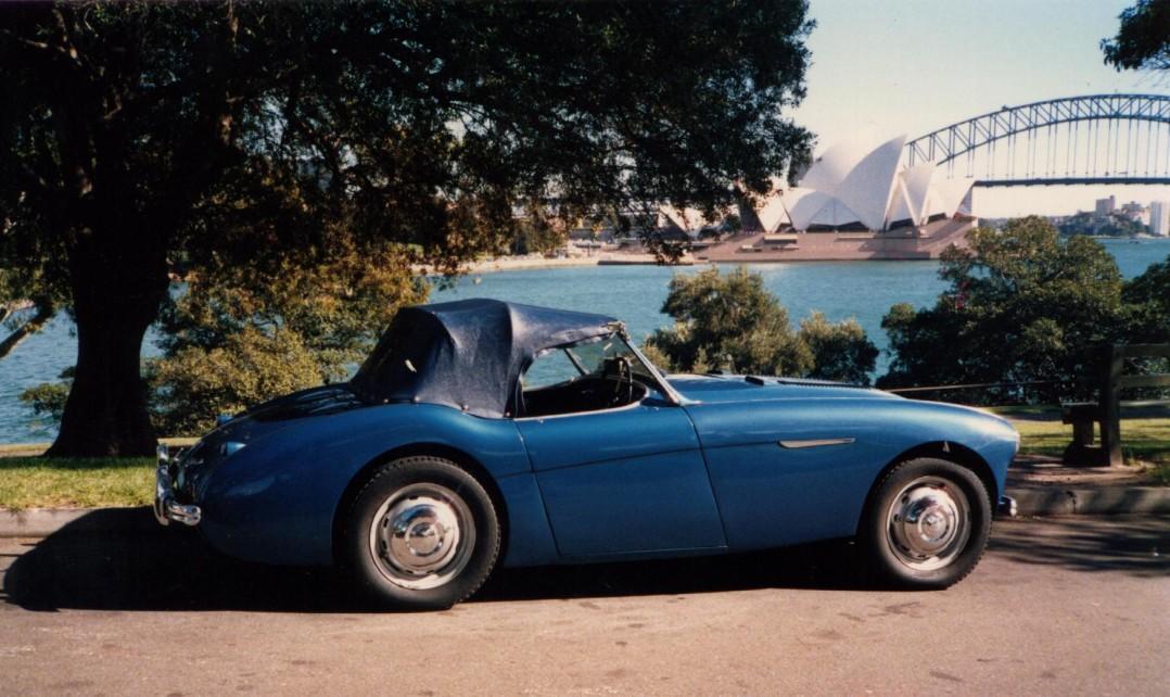 1954 Austin-Healey 100 BN3/1