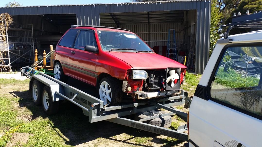 1986 Mazda 121 FUNTOP