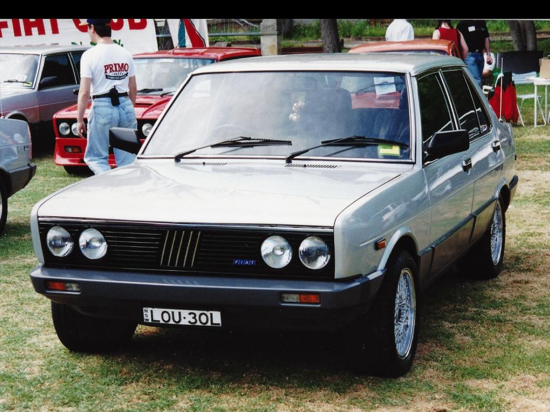 1982 Fiat 131 Superbrava