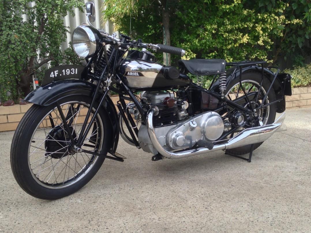 1931 Ariel Square 4F 500cc