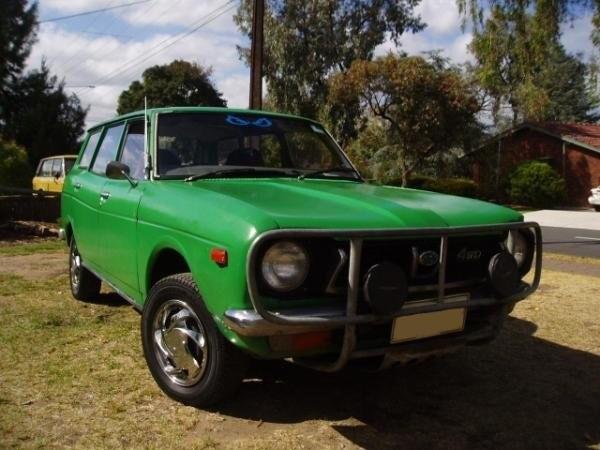 1976 Subaru 4x4 wagon