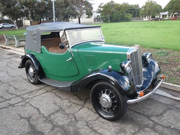 1938 Morris 8