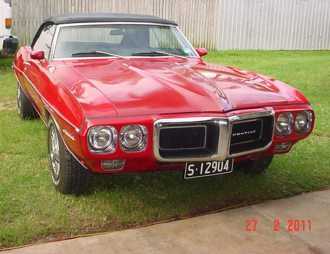 1969 Pontiac FIREBIRD FORMULA