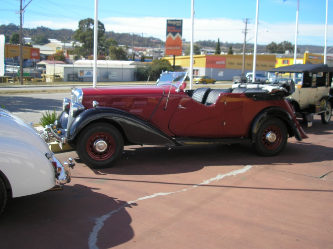 1937 Morris 25 Hp series II
