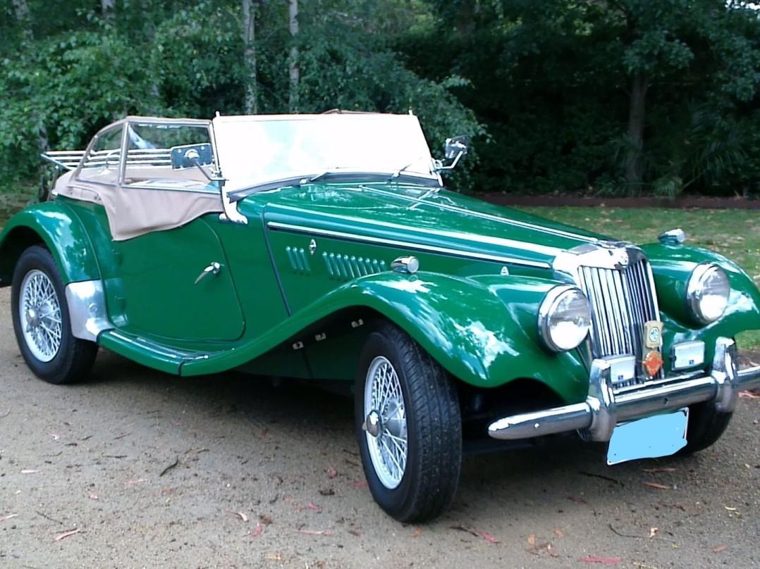 1955 MG MGTF 1500