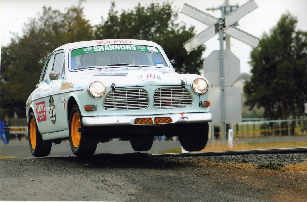 1967 Volvo 122SR (Works Group 2 rally car)