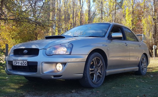 2005 Subaru IMPREZA WRX CLUB SPEC EVO 8