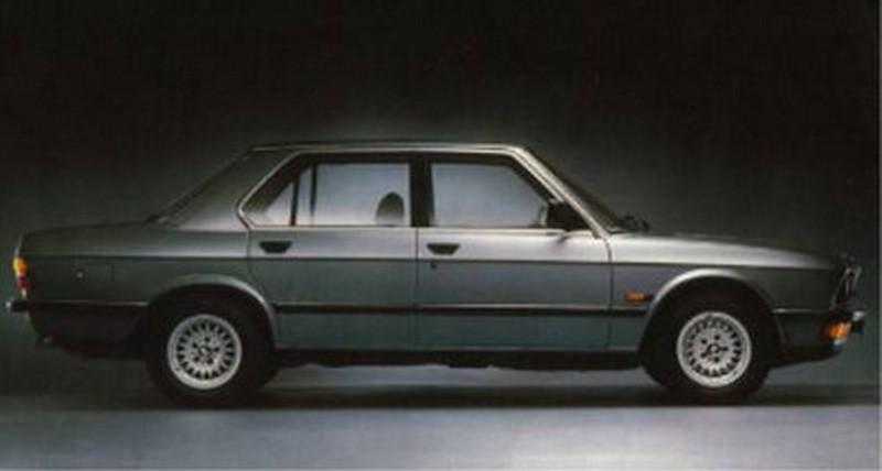1984 BMW 528i EXECUTIVE