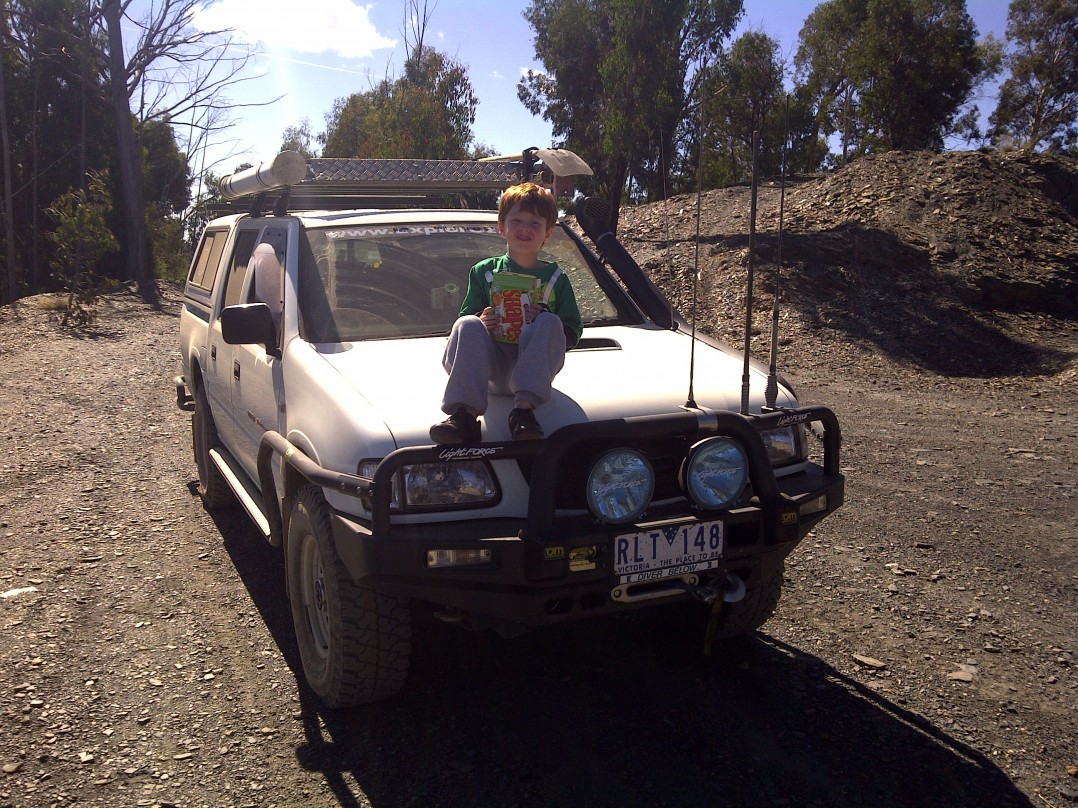 2001 Holden RODEO (4x4)