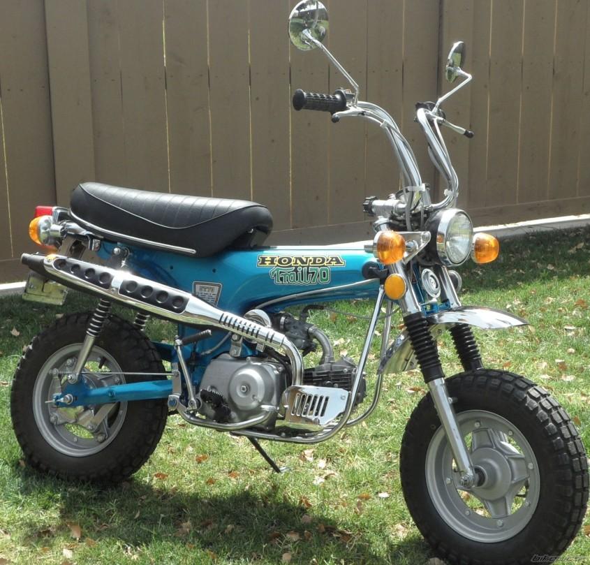 1974 Honda 72cc CT70A (DAX)