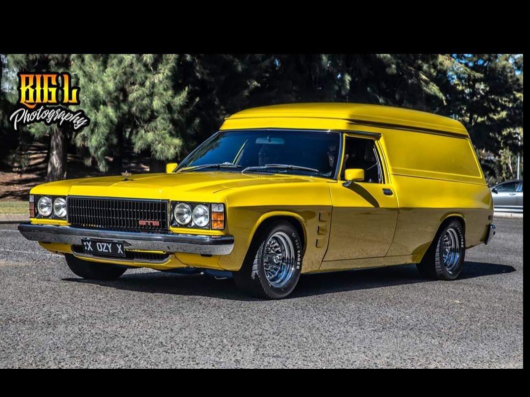 1975 Holden HJ Sandman