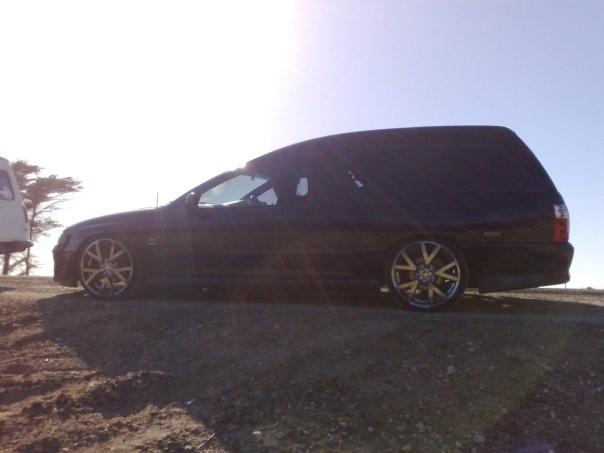 2004 Holden VY II SS Panel Van
