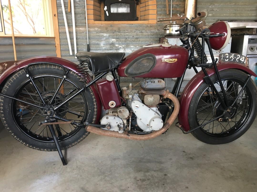 1935 Triumph Side valve